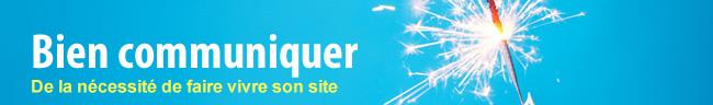 Ozenith.com, bien communiquer : de la nécessité de faire vivre son site internet